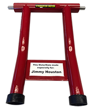 Jimmy Houston custom red MotorMate
