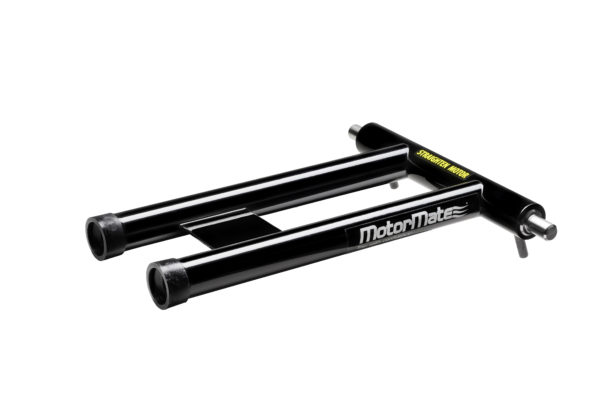 Black MotorMate transom saver alternative for Honda motors