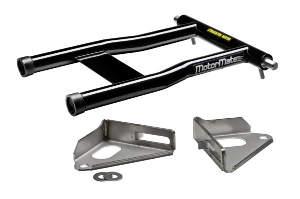 Black MotorMate for Yamaha with brackets