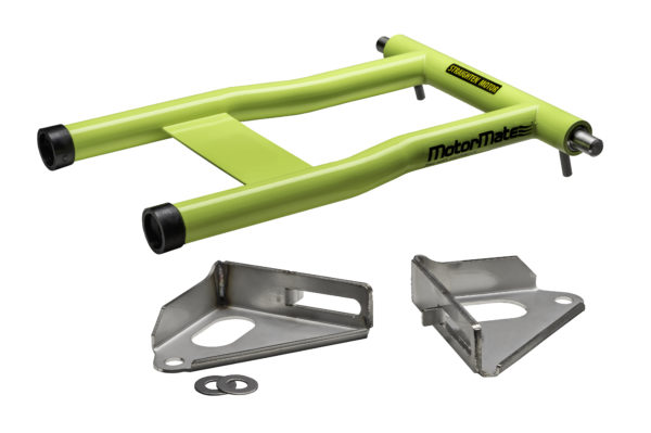 Chartreuse MotorMate for Yamaha with brackets