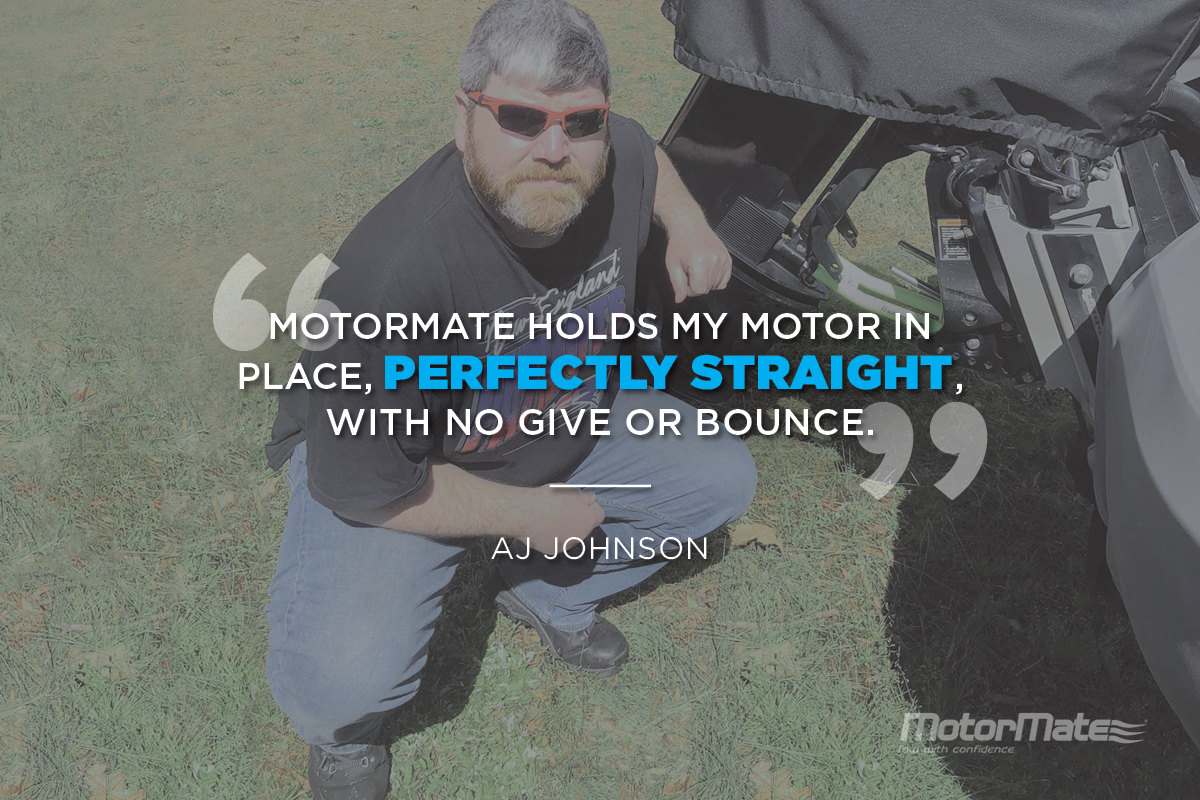 MotorMate Transom Saver Alternative Testimonial - AJ Johnson