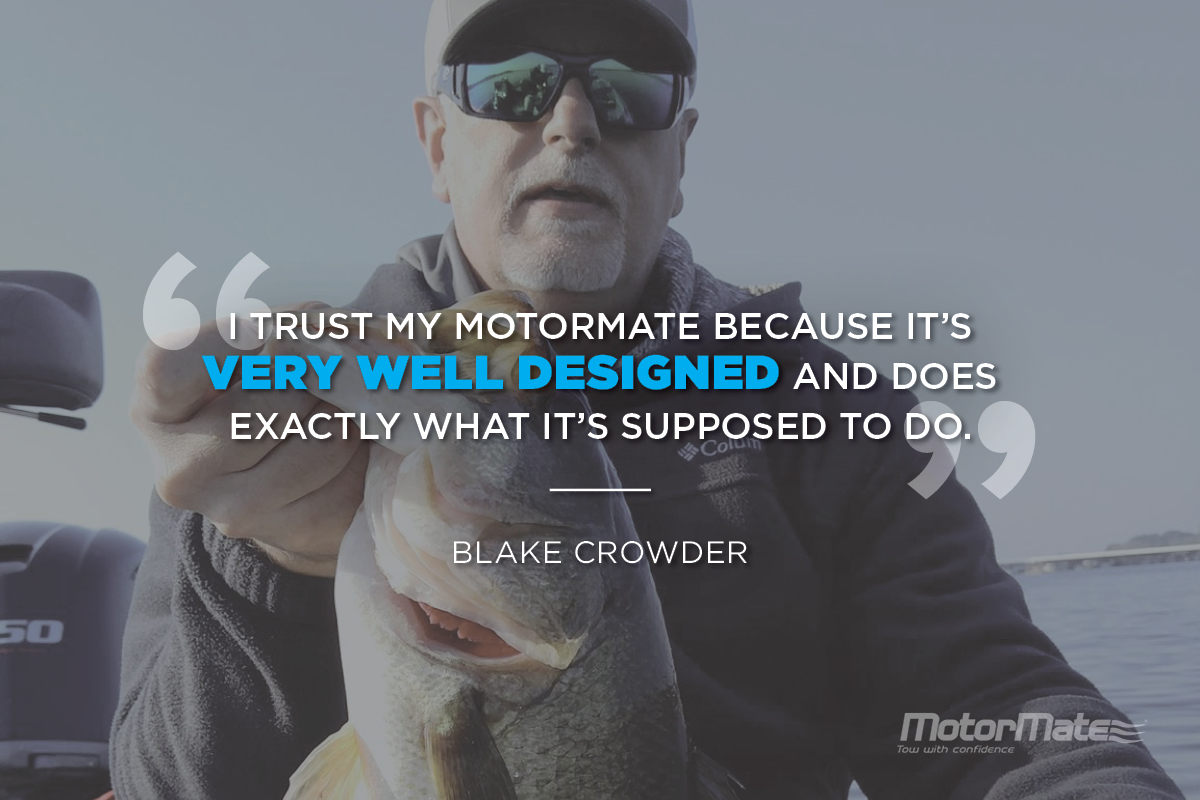 MotorMate Transom Saver Alternative Testimonial - Blake Crowder