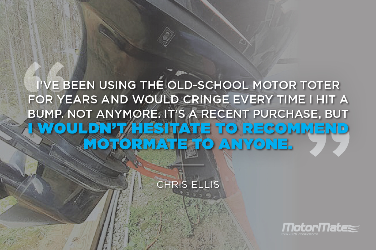 MotorMate Motor Toter Alternative Testimonial - Chris Ellis