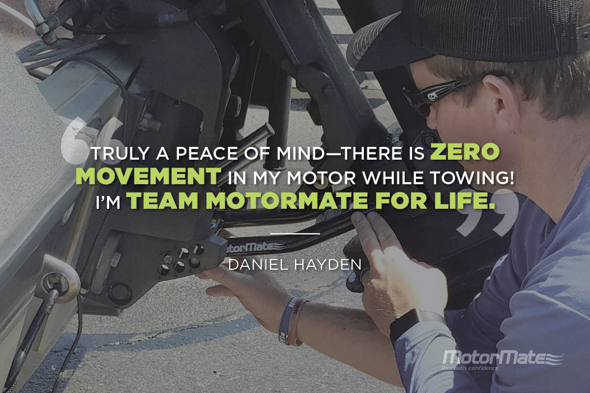 MotorMate Transom Saver Alternative Testimonial - Daniel Hayden