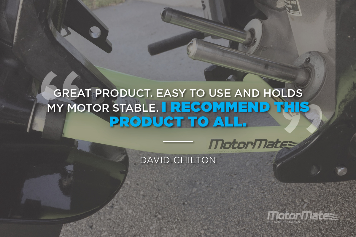 MotorMate Transom Saver Alternative Testimonial - David Chilton