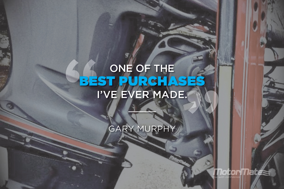 MotorMate Transom Saver Alternative Testimonial - Gary Murphy