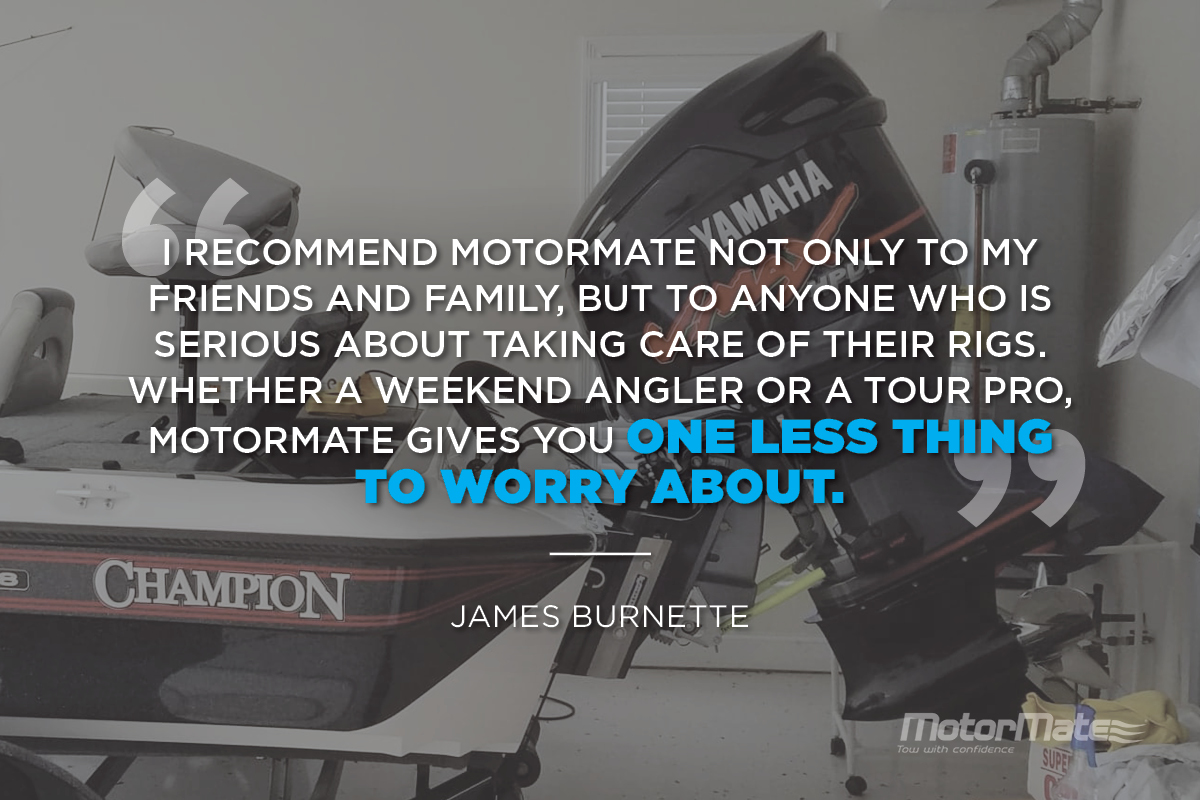 MotorMate for Yamaha Motors Testimonial - James Burnette