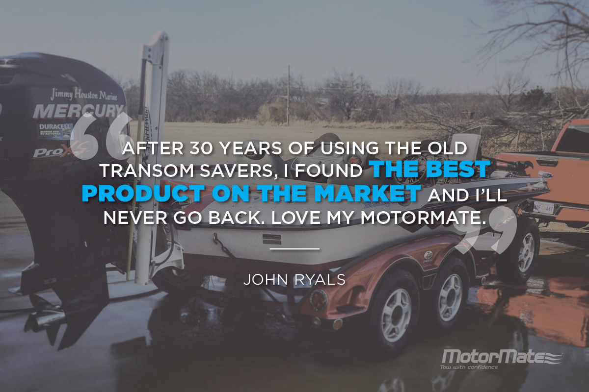 MotorMate Transom Saver Alternative for Mercury Testimonial - John Ryals