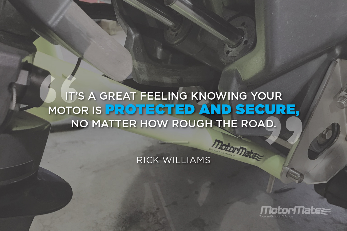 MotorMate Transom Saver Alternative Testimonial - Rick Williams
