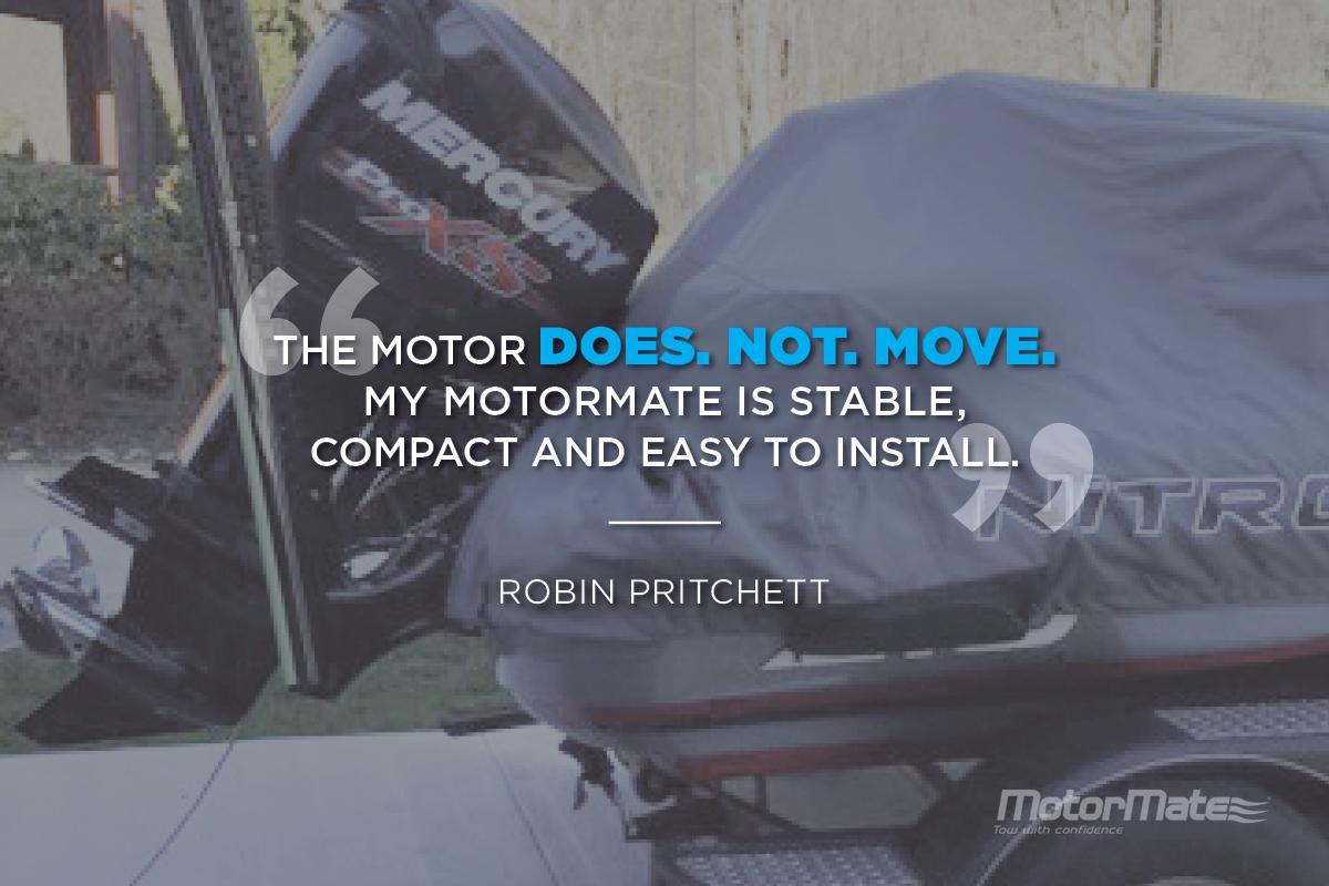 MotorMate for Mercury Testimonial - Robin Pritchett