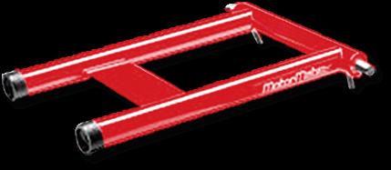 Red MotorMate Transom Saver Alternative for Yamaha